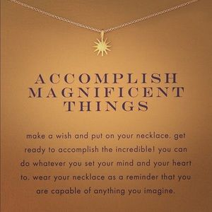 🍂🎃🍂Accomplish Great Things Necklace